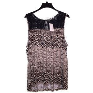 Pleione 2x NWT sleeveless tops
